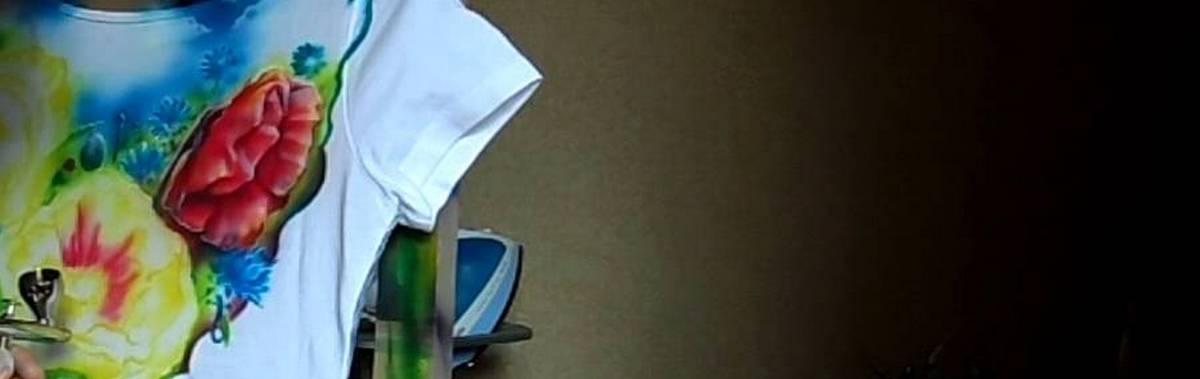 Подарочный сертификат Роспись на майке (простой рисунок)