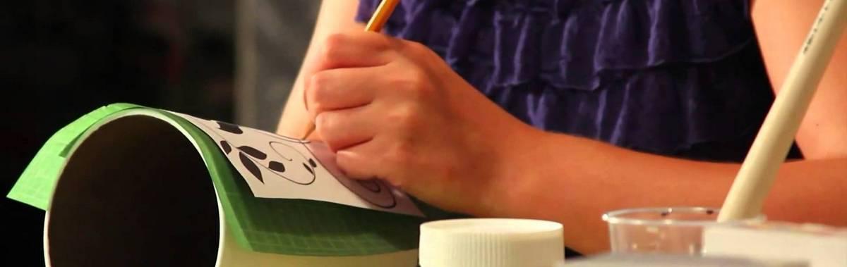 Подарочный сертификат Мастер-класс по росписи посуды (индивидуальные занятие)