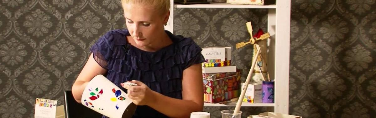 Подарочный сертификат Мастер-класс по росписи посуды (детские индивидуальные занятие)